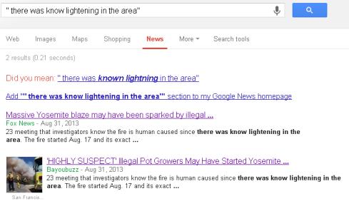 know lightening