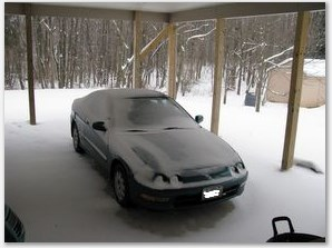 Integra in snow